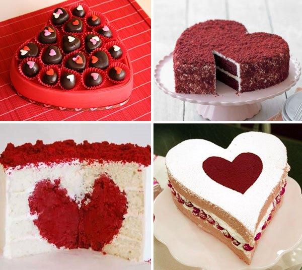 Как своими руками красиво украсить торт на день всех влюбленных
