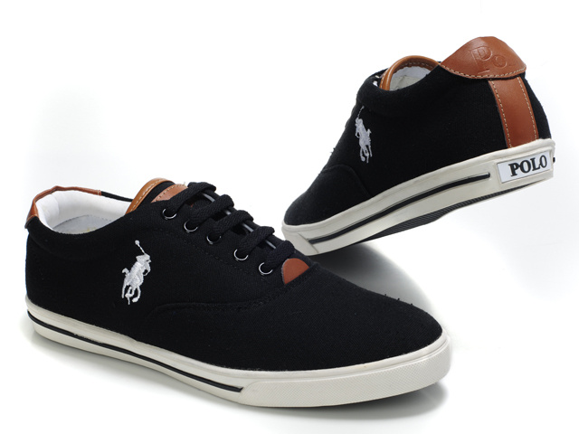 Gallery For gt Black Polo Shoes Men