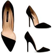 zara-black-pointed-toed-court-shoes